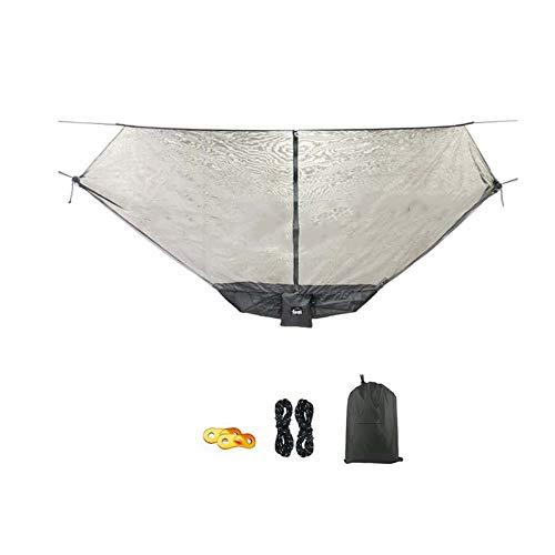 YLOVOW Camping Moustique, hamac, hamac Double, pour Jardin, Porche, Usage  extérieur et intérieur - Tissu de Coton Doux pour Un Confort ...