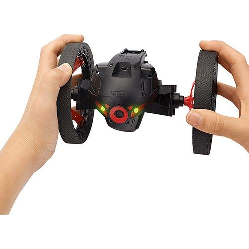 Parrot Jumping Sumo Minidrone (WiFi, Wide Angled Kamera) schwarz - 5