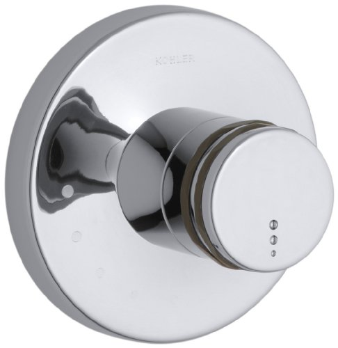 Cp Finial (KOHLER K-T10184-7-CP Mastershower Volume Control Trim, Polished Chrome by Kohler)