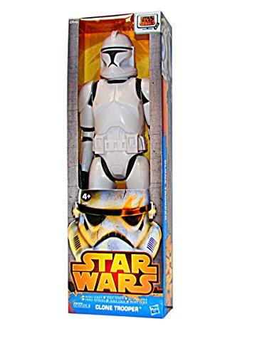 STAR WARS FIGURINE 30 CM mit Waffen HASBRO A0865 A0867 Clone Trooper A0867