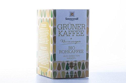 Sonnentor Grüner Kaffee im Beutel (18 Beutel)