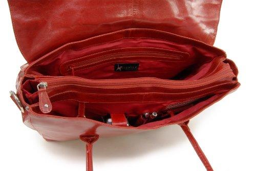 Borsa over-size per portatile in pelle di Catwalk Collection