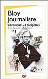 Bloy journaliste : Articles et chroniques par Bloy