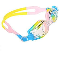 A-szcxtop Wasserdicht Anti UV- und Nebel Brillen Brillen Polarisierte Sonnenbrille für Schwimmen Candy color