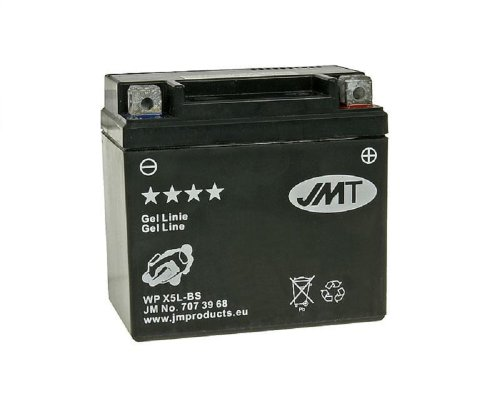 Batterie JMT - 707.37.45 - MF - YTX5L-BS 12 Volt China Scooter 125 cc [ inkl.7.50 EUR Batteriepfand ]