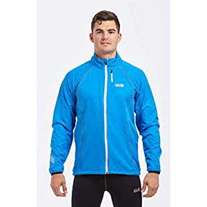 time to run Zephyr Winddichte Laufjacke für Herren
