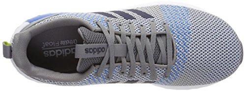 adidas Questar BYD, Scarpe da Ginnastica Basse Uomo Grigio (Grey Three/collegiate Navy/grey One)