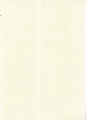 A4 Ice Gold Ivory Pearlised Card- Double Sided 15 sheets 135gsm