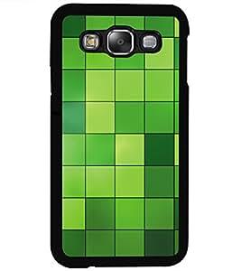 ColourCraft Beautiful Pattern Design Back Case Cover for SAMSUNG GALAXY E5
