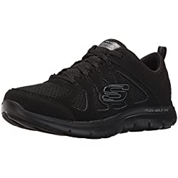 Skechers Flex Appeal 2.0 Simplistic Women's Trainers fitness Lite Weight black, Black, EUR 39