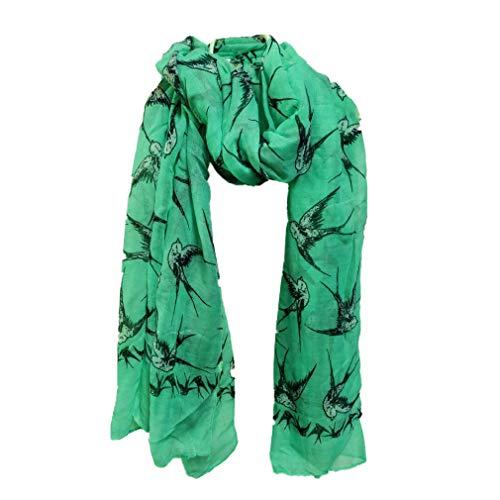 Mode Frau Schal Weich Atmungsaktiv Druckmuster Stolen Lange Damen Wickelschals von SamGreatWorld
