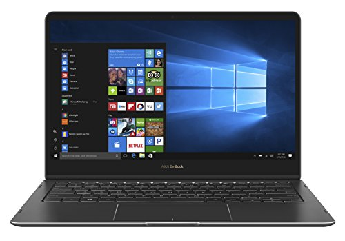 Asus ZenBook Flip S Notebook, LCD 13.3 Full HD, Processore Intel Core I7-7500U, RAM 16 GB, SSD 512, Blu [Layout Italiano]