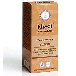 Khadi, Tinte vegetal para il cabello, Coloracion castaño claro