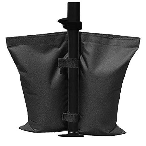 idalinya Regenschirm Basisgewicht Tasche Markise Sandsack Winddicht Für Fahnenmasten für Patio-Offset- und Cantilever-Regenschirme -