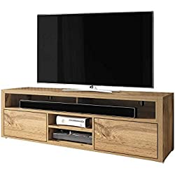 Selsey Wotan Oak Meuble TV Bas 137 x 33 x 42,5 cm