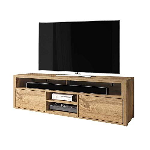 Selsey Wotan Oak Meuble TV Bas 137 x 33 x 42,5 cm