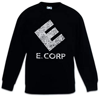 E Corp Kids Children Boys Girls Sweatshirt Pullover Fsociety Allsafe Hacker TV Series Evil Corp Mr. Robot