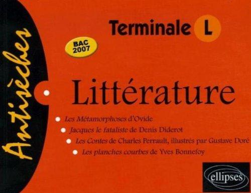Littérature Terminale L