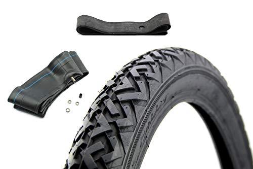 Vee Rubber Set 1 Reifen VRM-087 2,75 x 17 (2 3/4 x 17) 1x Schlauch - 1x Felgenband (Reifen Auto 17 Zoll)