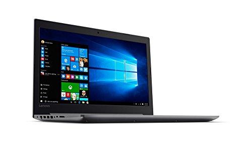 Lenovo IdeaPad 320 396 cm 156 Zoll maximum HD TN Antiglare Notebook i7 7500U double primary 8 GB RAM 256 GB SSD AMD Radeon 530 2 GB DVD Brenner Windows 10 residential silber Notebooks