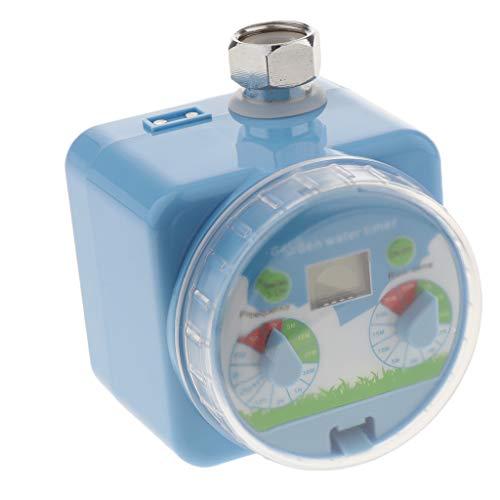 Fenteer Heavy Duty Irrigation Water Timer Saver Lawn Sprinkler Controller -