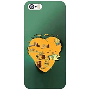 Printland Phone Cover For Apple iPhone 5S
