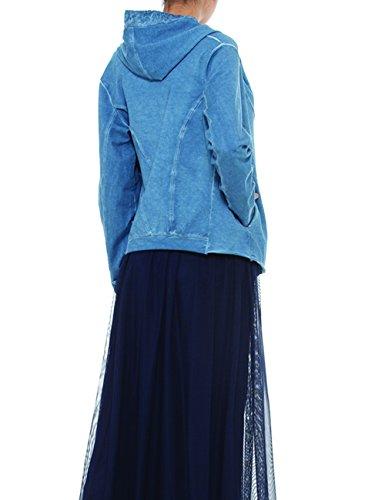 AnnaCristy Damen Pullover Blau (Indaco)