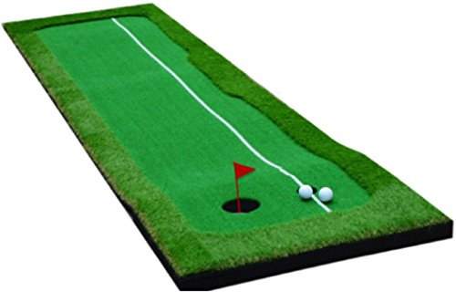 Golf Putting Mat - Golf Puttingmatte - High quality durable Golf Mat for indoor/outdoor- Golf Trainingequipment - 75x300cm