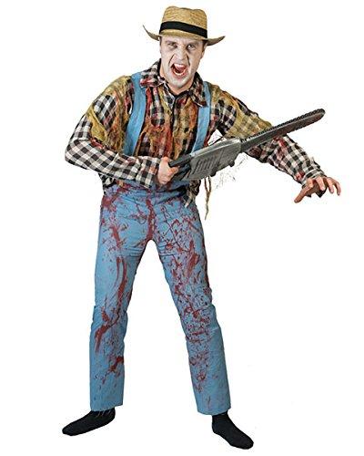 Pierro´s Kostüm Zombie Gärtner Bloody Harlow Halloween Herrenkostüm Größe 52-54