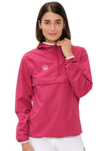 SPOOKS Damen Jacke, leichte Damenjacke mit Kapuze, Herbstjacke - Kaya Rain Jacket Pink M