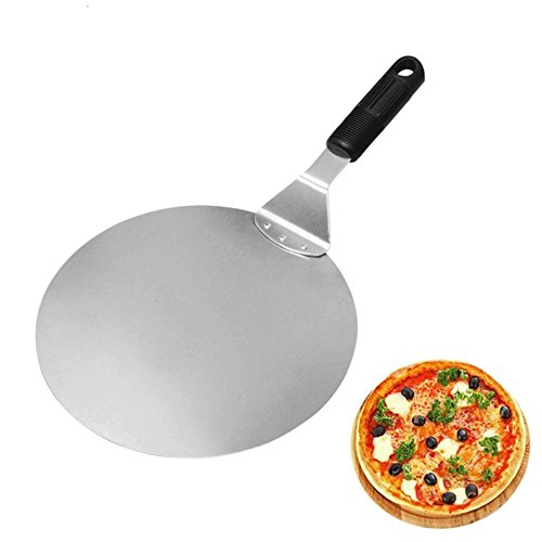 Pizzaschieber Pizzaschaufel Alxcio Kunststoffgriff Brotschieber Kuchen-Fach für Kuchen Pizzas Brot Kekse Sandwich-Törtchen (Und Die Klinge Tray Ist)