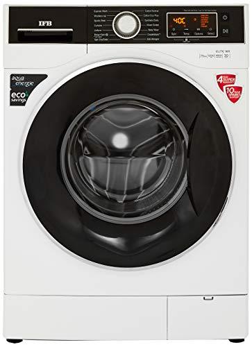 IFB 7.5 kg Fully-Automatic Front Loading Washing Machine (Elite WX, White, Inbuilt Heater, Aqua Energie water softener)