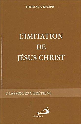 L'imitation de jesus christ