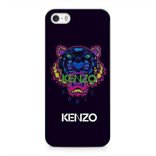 Coque pour KENZO LOGO Série iPhone 5 5s Case noir iPhone 5 5s Coque UIWEJDFGJ5136