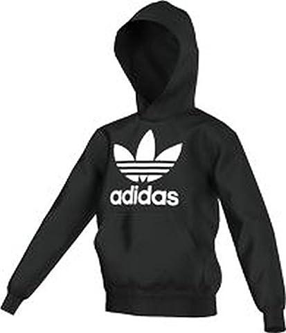 Adidas J ADI TF HOODIE schwarz - 140