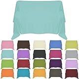 Nurtextil24 Sofaüberwurf in 30 Farben und 4 Größen Überwurf aus