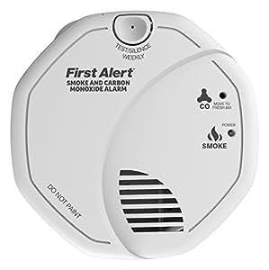 First Alert Alarme combinée (fumée et monoxyde de carbone) Garantie 5 ans (Import Grande Bretagne)