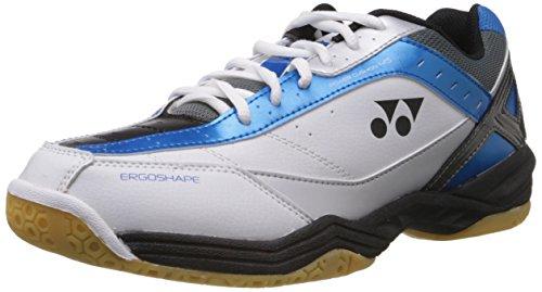 Yonex Power Cushion SHB 45EX Badminton Shoes, UK 8 (Blue)