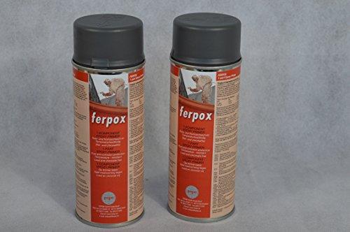 Preisvergleich Produktbild 2 X FERTAN Ferpox 1-Komponent Epoxy Primer 400 ml Sprühdose KFZ PKW Restaurieren Werterhalten