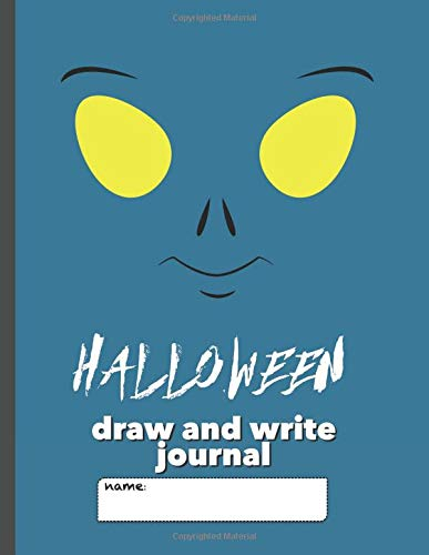 rite Journal: Writing Notebook for Kids with large space for drawing pictures and wide lines to encourage creative writers (Space Alien) ()