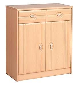 unbekannt kommode anrichte sideboard 16849 buche 74 cm k che haushalt. Black Bedroom Furniture Sets. Home Design Ideas