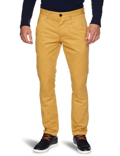 JACK & JONES - 12069121, Pantalone da uomo, giallo(honey mustard), 44/46 it (31w/34l)