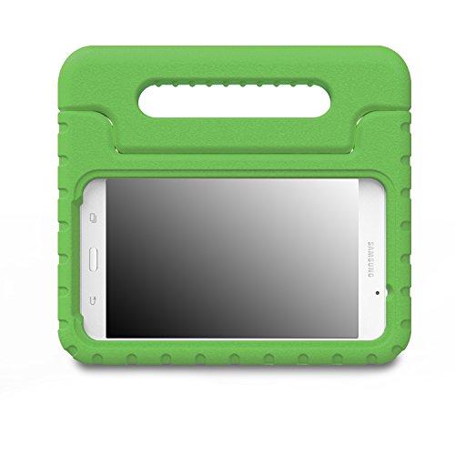 MoKo Samsung Galaxy Tab A 7.0 Hülle Case - Superleicht Eva Stoßfest Kinderfreundlich Kinder Schutzhülle mit umwandelbarer Handgriff Handle/Standfunktion für Samsung Galaxy Tab A 7.0 Zoll, Grün