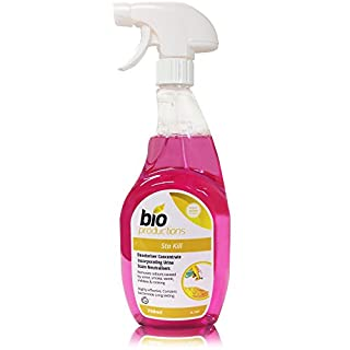 Bio Productions Sta-Kill Deodoriser Concentrate for the Removal of Odours such as Vomit, Urine and Pets - 750 milliliter