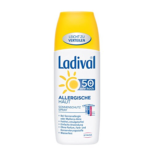 Ladival Protection solaire spray aspergillose Peau SPF 50 + 150 ml