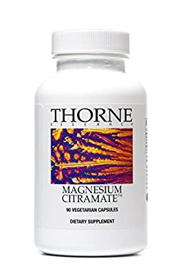 Thorne Research - Magnesium Citramate - Magnesium with Citrate-Malate Supplement - 90 Capsules from Thorne Research