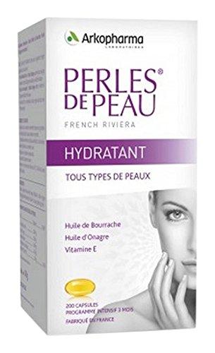 Perlen der Haut Feuchtigkeitscreme 200 Kapseln Arkopharma -
