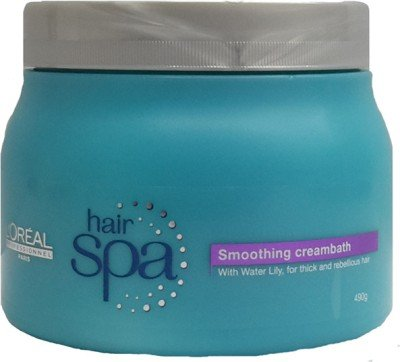 L'oreal Professionnel Paris Smoothning Creambath Hair Spa 490 gm With Ayur Lotion 50 ml