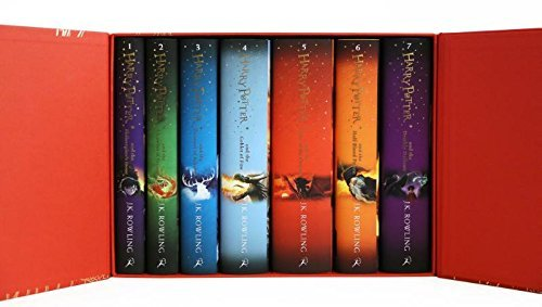 By J.K. Rowling Harry Potter Box Set: The Complete Collection (Children's Hardback) (Boxed Set) [Hardcover]