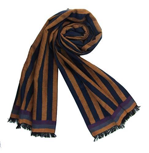 Preisvergleich Produktbild Schal 100% Seide Flanell Fleece Flauschig 180X30 cm warm dick SC-S-CDF-1310-2